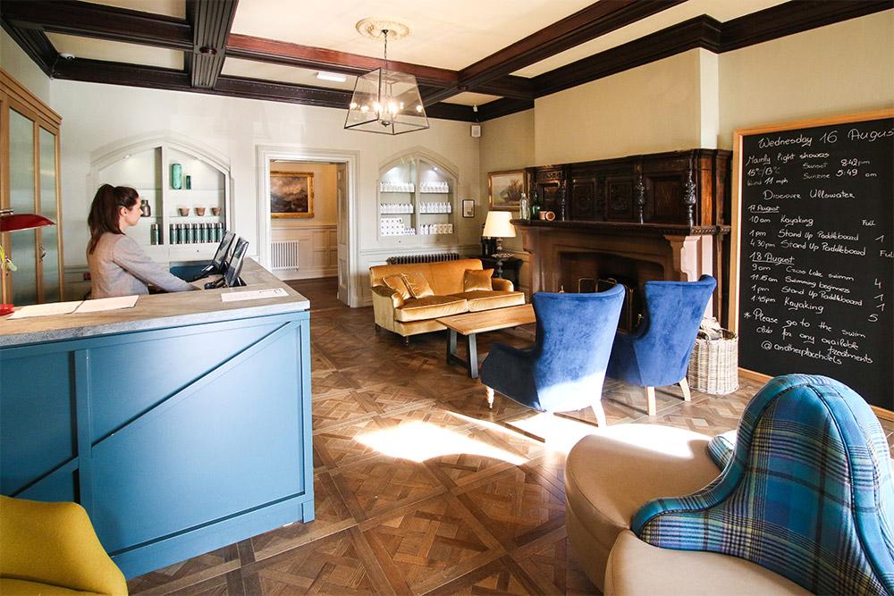 Lake District hotel design interiors
