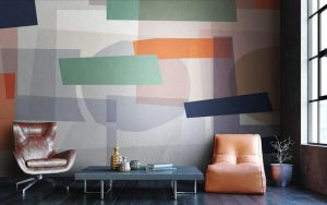 Tektura Wallcoverings - Abstract Haze by Jonnie Lawes